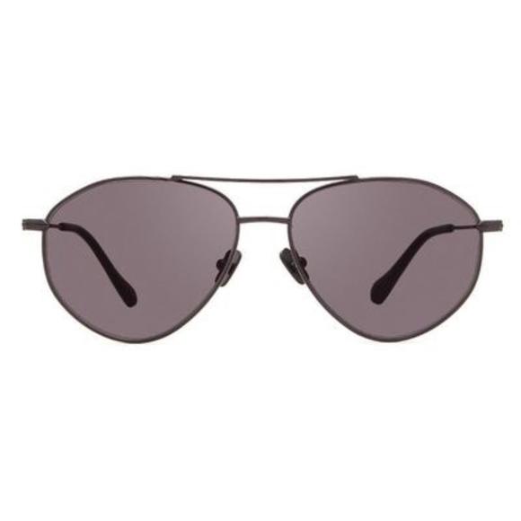 b0512cb65aa71 Diff Eyewear Accessories - Laura Lee x Diff Eyewear Black Aviator Sunglasses